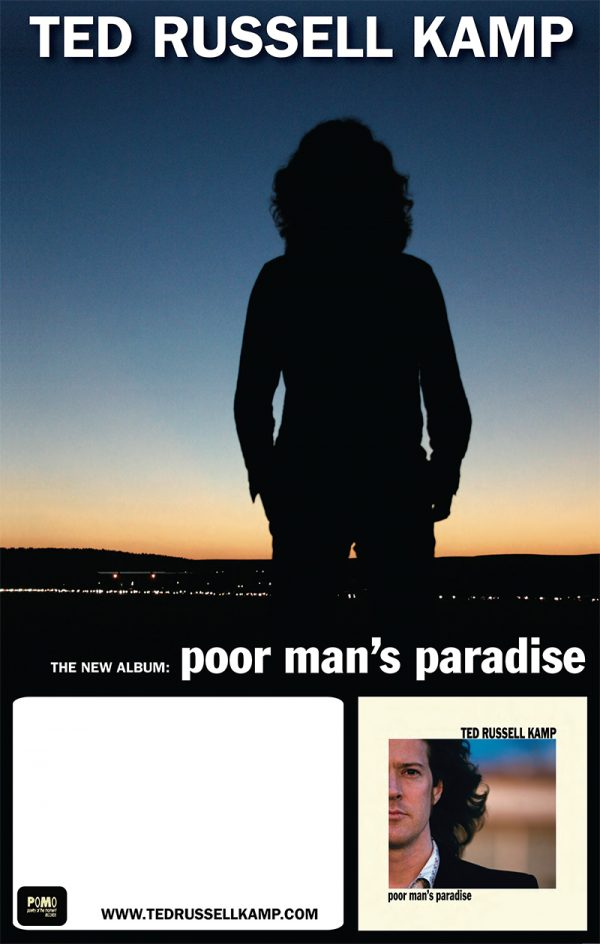 Poor Man's Paradise tour poster