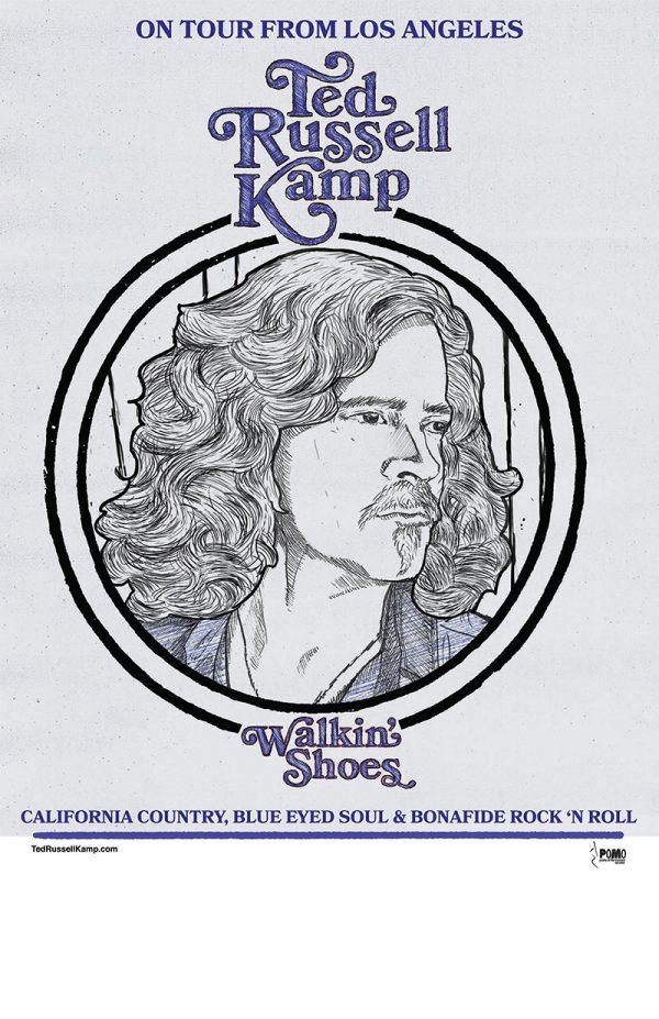 Walkin' Shoes tour poster