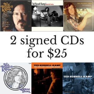 2 CDs for $25
