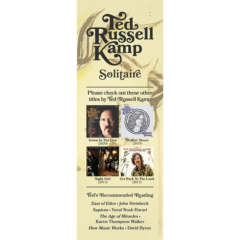 Solitaire bookmark
