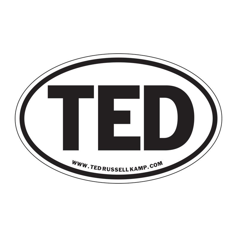 Euro TED sticker